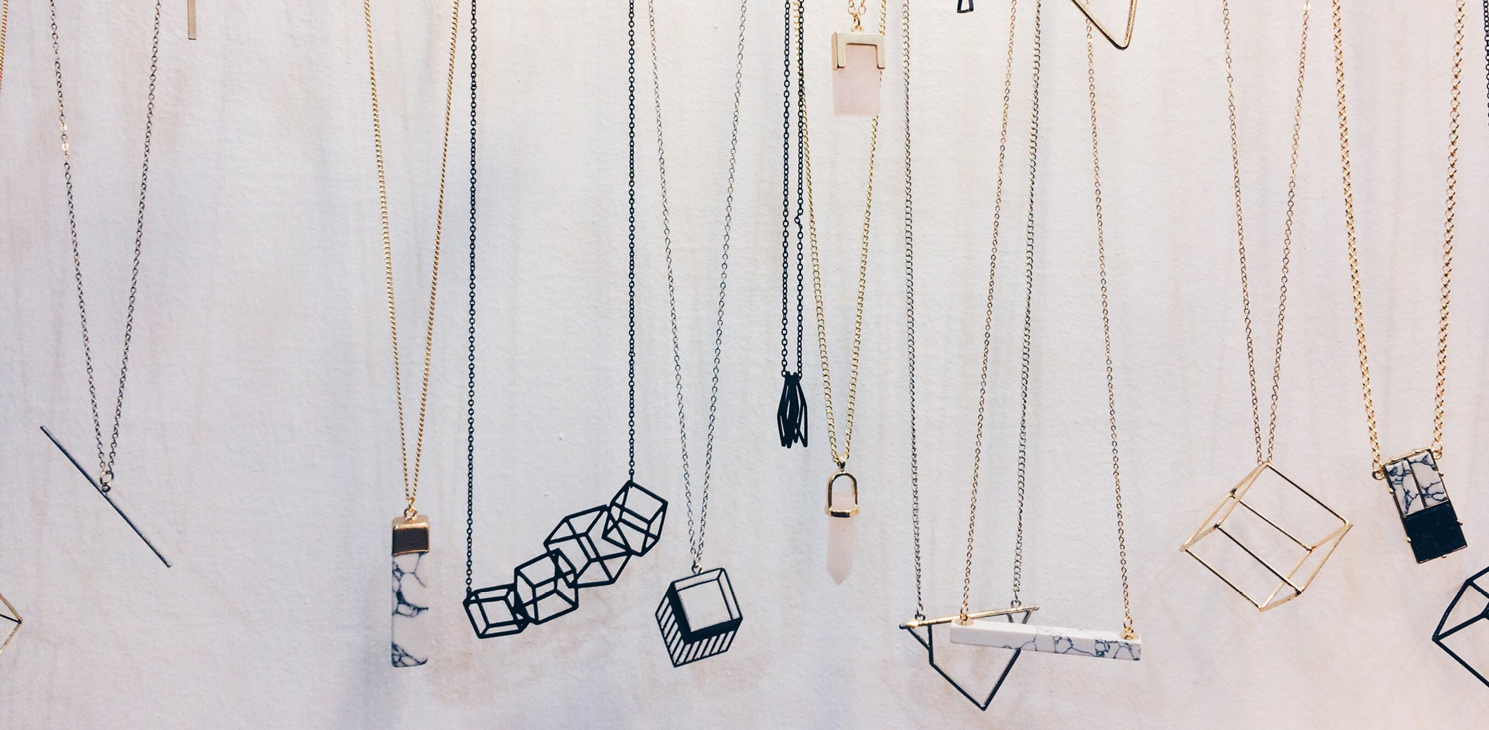 Minimalist Sculptural Jewellery - Mini Treasures For Every Day Outfits