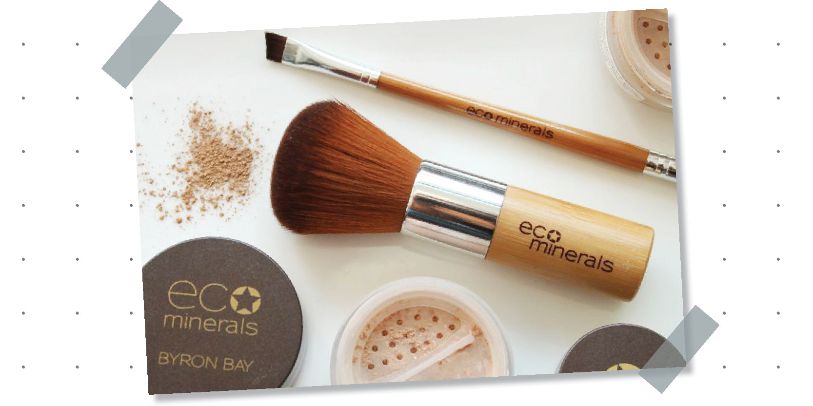 ECOMinerals - 100% natural foundation - Eco Mineral Foundation