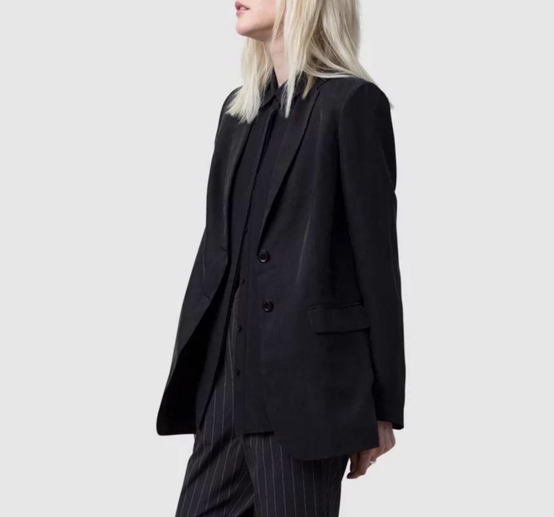 Nique - Shiori black tailored jacket