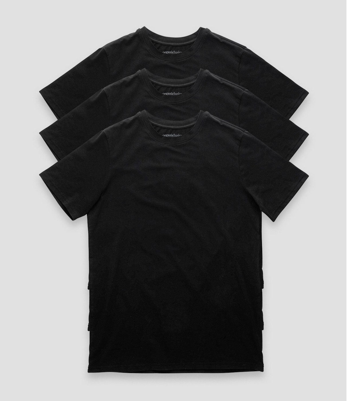 Organic Basics - Black- t-shirt tee top
