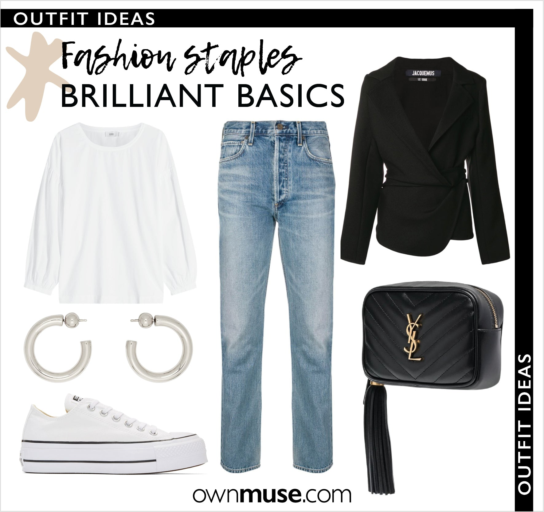 Collage Capsule Wardrobe - brilliant basic capsule wardrobe essentials.