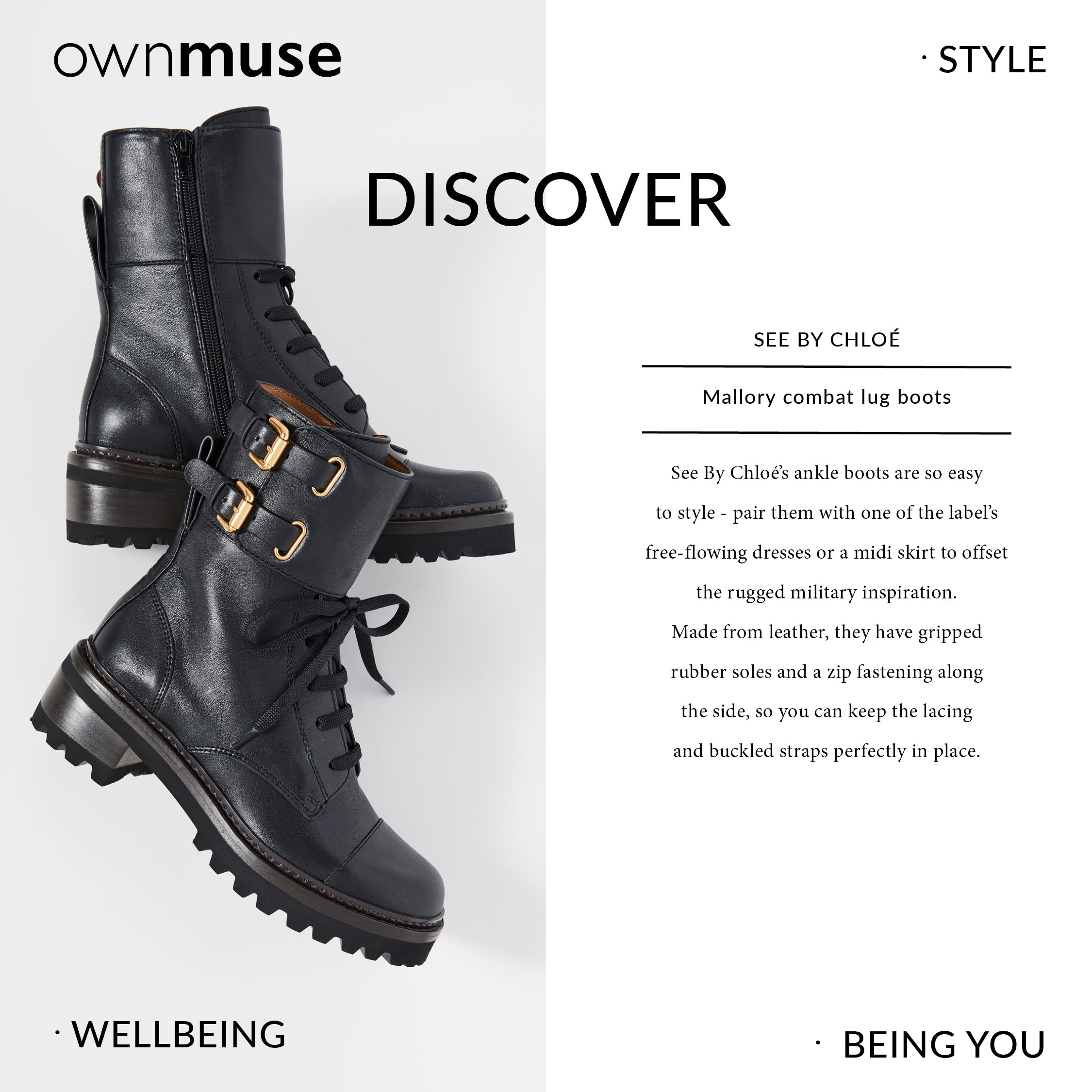 Boots - Capsule Wardrobe Collection - Always stylish black ankle boots