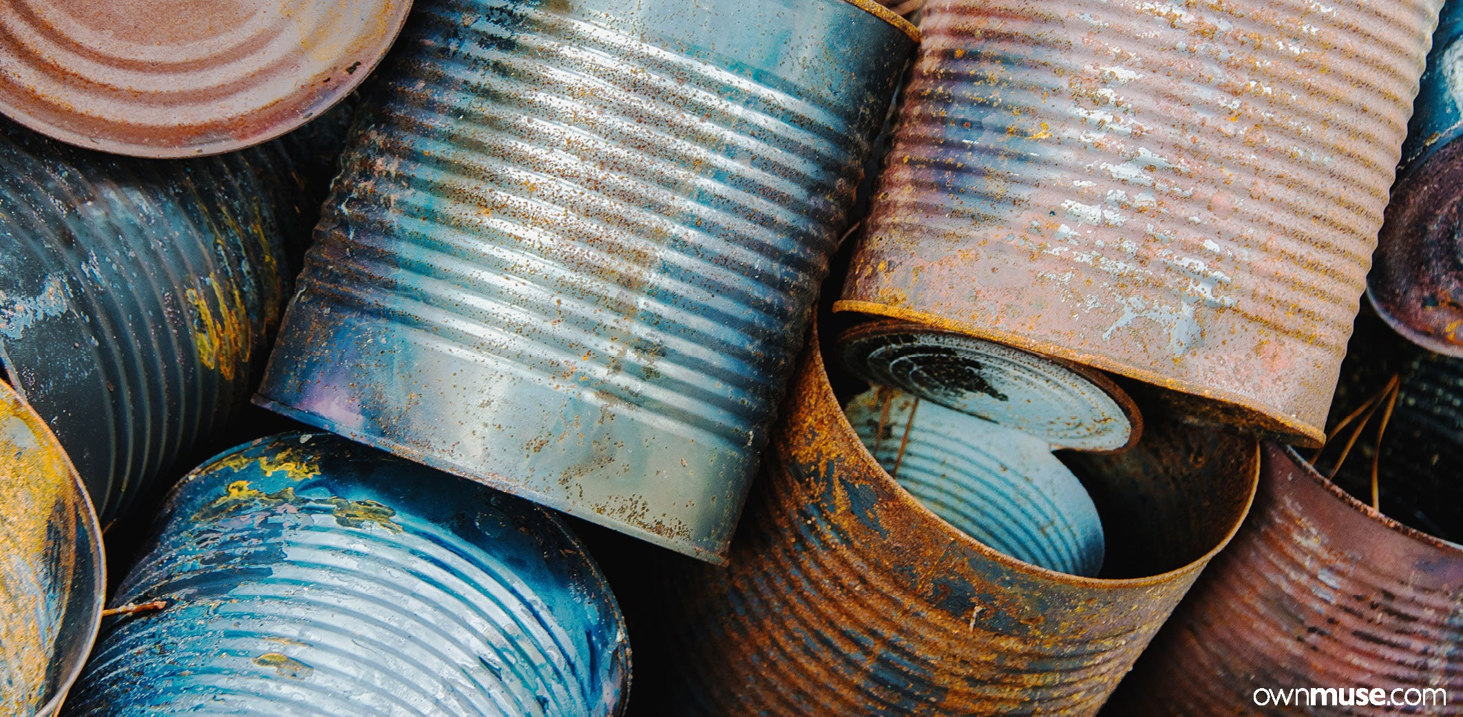 Aluminium cans and steel recycling