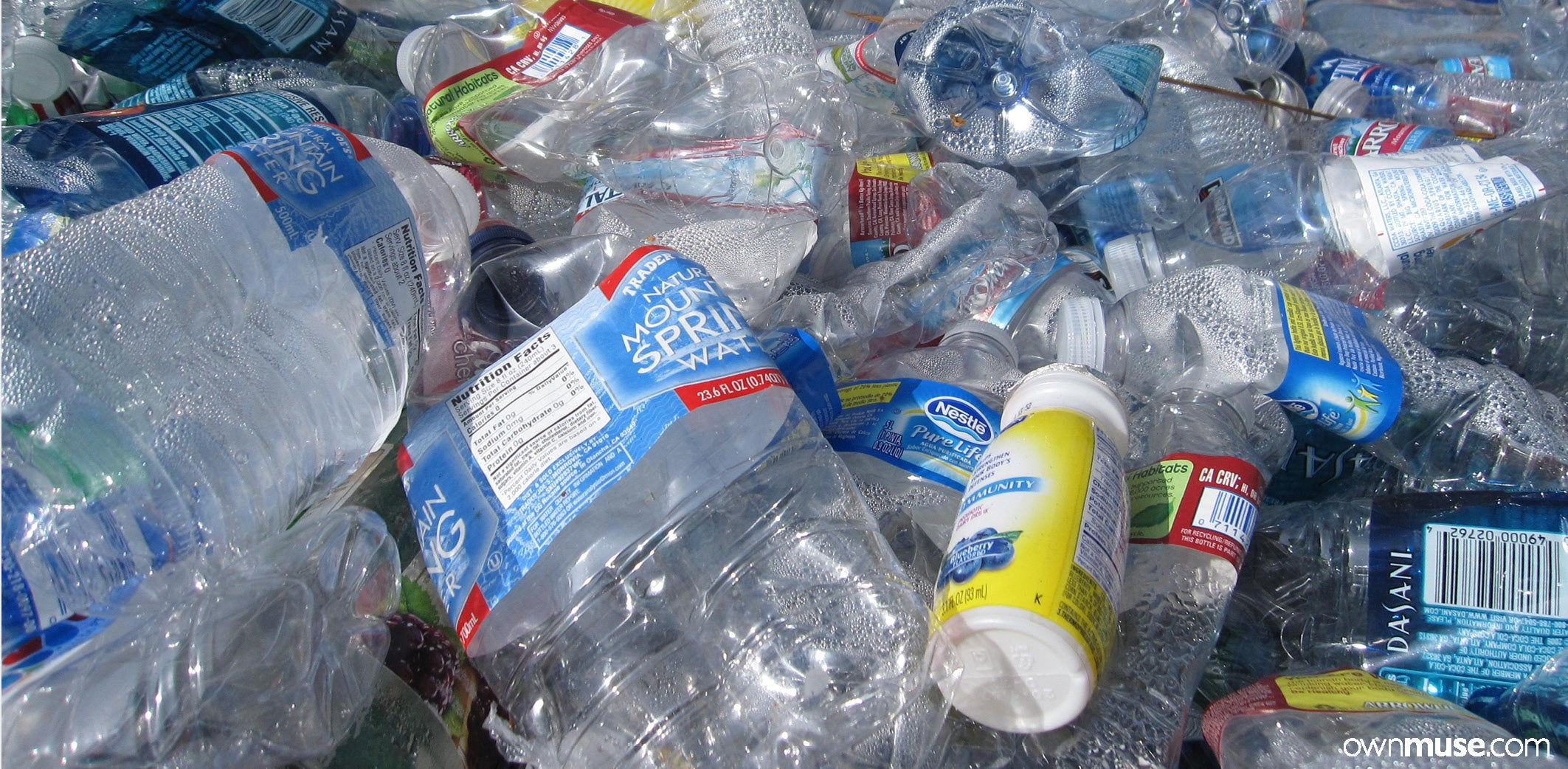 Plastic recycling and how to avoid using plastic