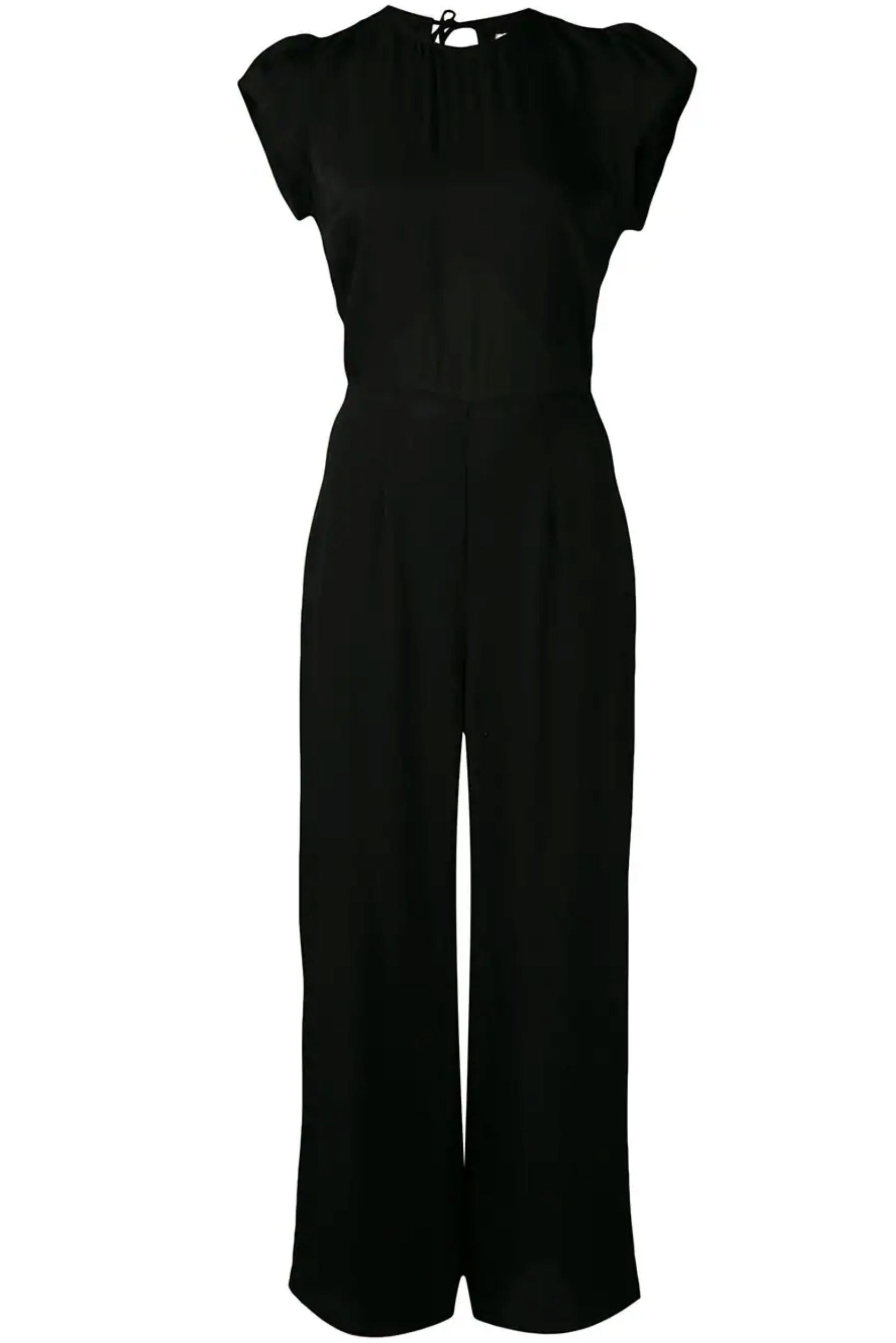 Reformation - Black Mayer Jumpsuit