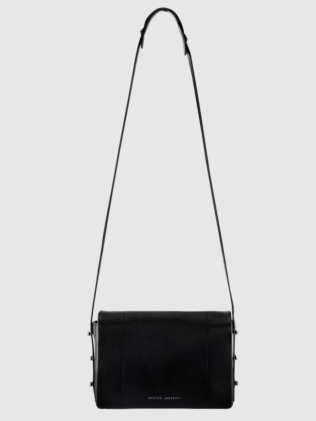 Status Anxiety - Seccumb black cross-body shoulder bag