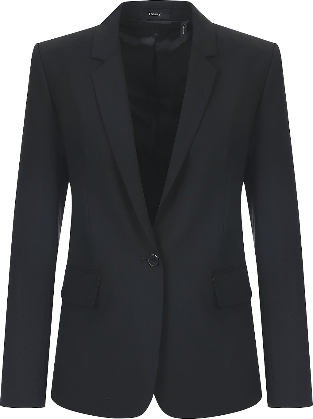Theory - Essential black tailored suit blazer jacket