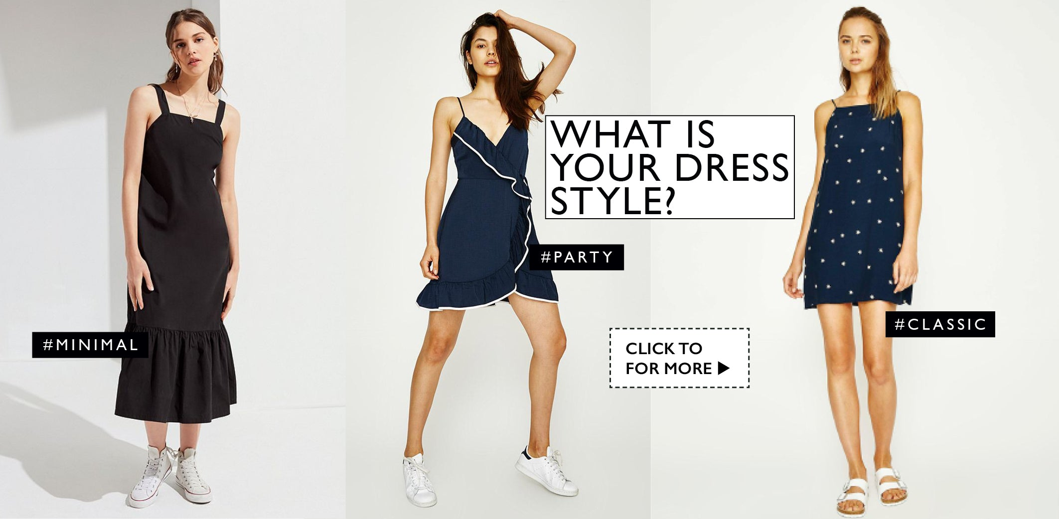 What is your dress style? Inspiration editorial layout own muse