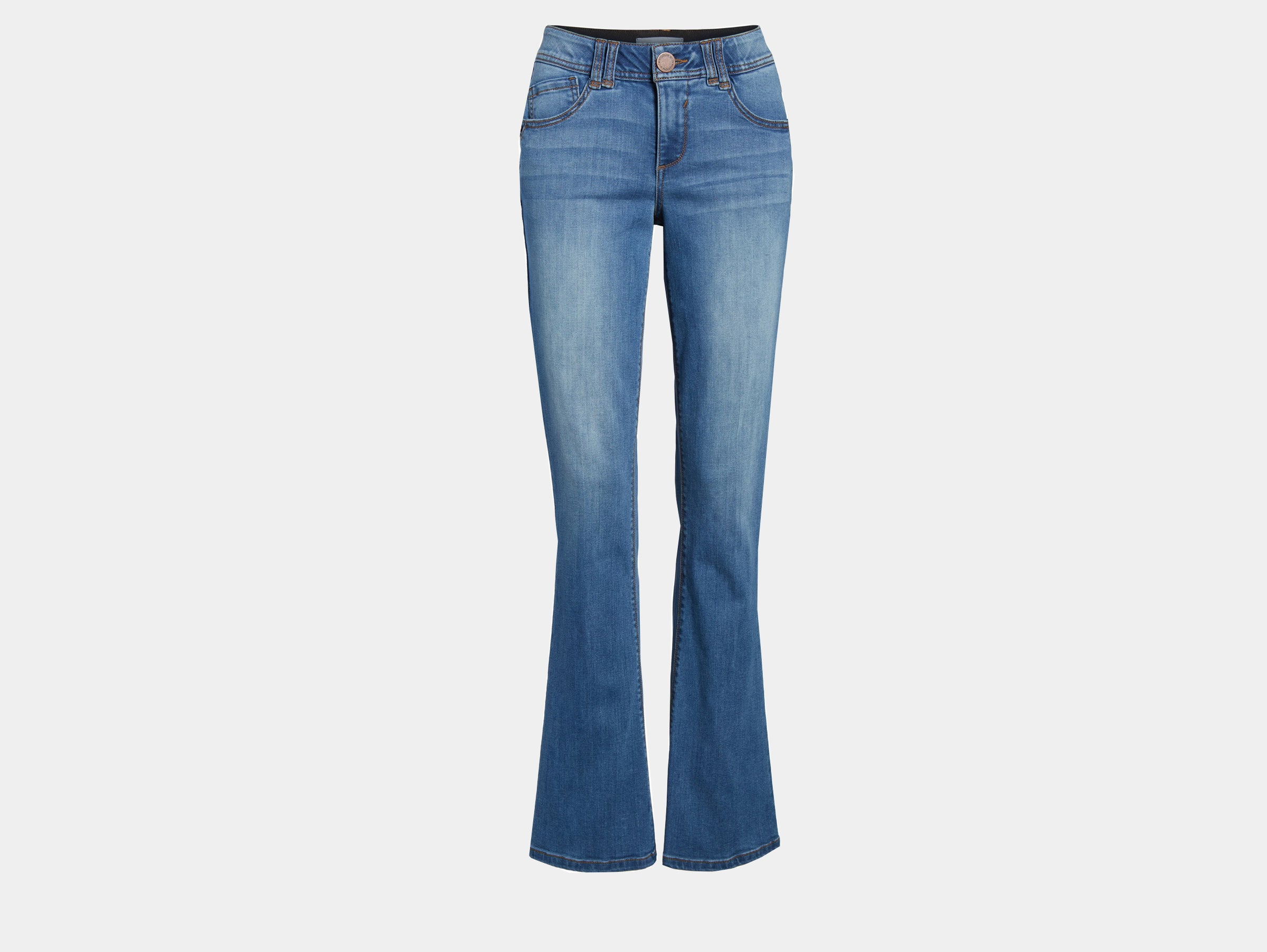 Wit + Wisdom - Ab solution itty bitty bootcut blue denim jeans