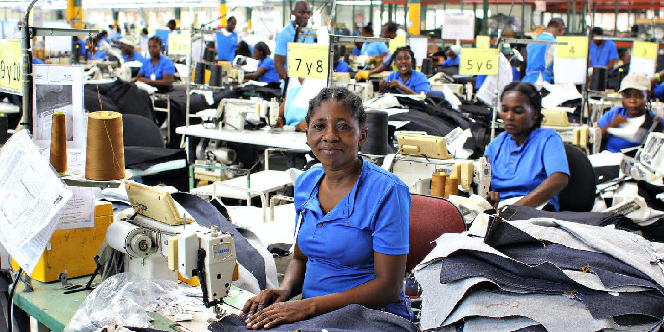 Levi's workers in India