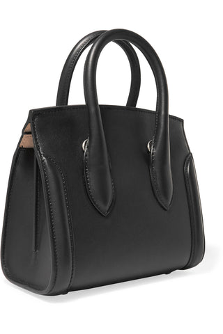 "Heroine Teardrop Small Black Leather Iconic Tote Bag<a href=""http://shopstyle.it/l/eywb"" target=""_blank"">"