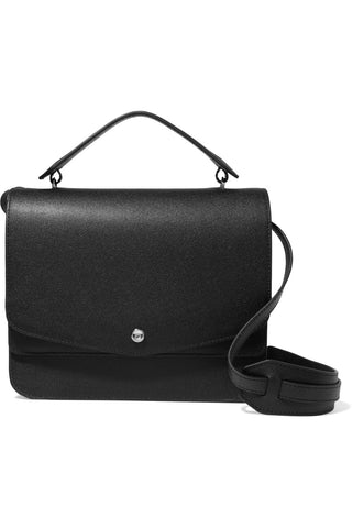 "Minimalist Eloise Textured Leather Shoulder Bag<a href=""http://shopstyle.it/l/ewRV"" target=""_blank"">"
