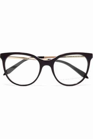 "Classic Kitten Cat-eye Acetate & Gold-tone Glasses<a href=""http://shopstyle.it/l/esLQ"" target=""_blank"">"