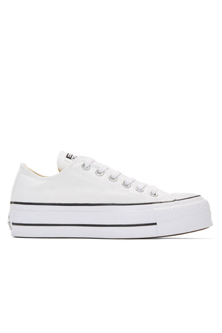 Converse - White platform Chuck Taylor All star lift sneakers