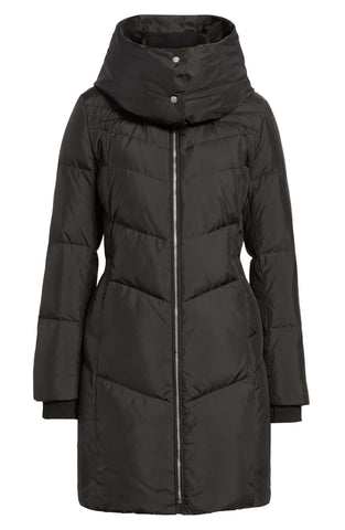 Cole Haan - Black Soft Essential Puffer Coat