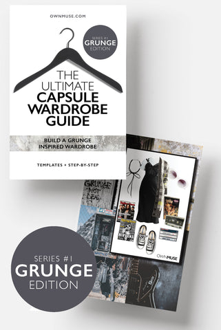 The Ultimate Capsule Wardrobe Guide - Grunge Edition