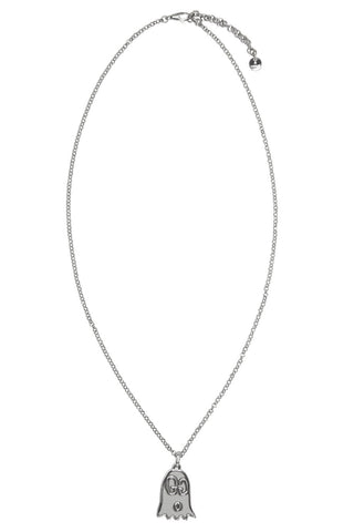 Gucci - Silver ghost pendant necklace