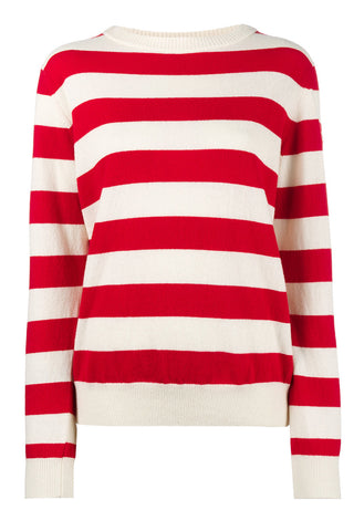 "Sailor Long Sleeve Striped Red & White Sweater<a href=""http://shopstyle.it/l/gksG"" target=""_blank"">"