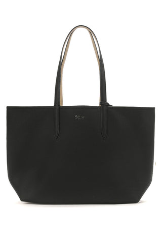 Lacoste - Black 'Anna' shopping tote bag