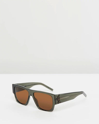 Saint Laurent - M17 gunmetal gray grey sunglasses