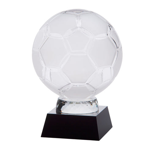 Personalised Engraved Empire Football Crystal Award Trophy Free Engraving