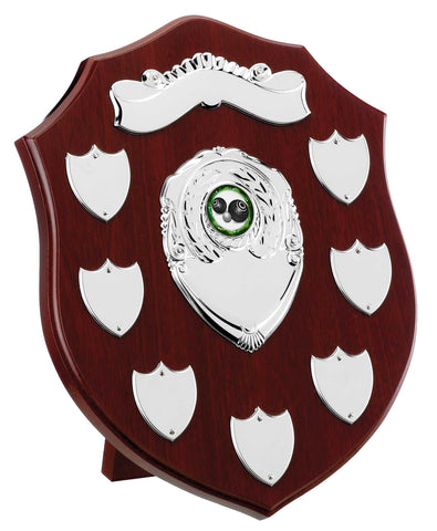 Personalised Engraved Annual Shield Trophy Any Sport/Multi Sport 4 Sizes Available Free Engraving
