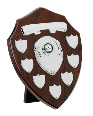 Personalised Engraved Annual Shield Trophy Any Sport/Multi Sport 3 Sizes Available Free Engraving