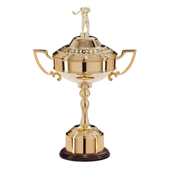 Golf Gold Plated Cup Trophy