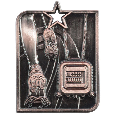 Running Medal and Ribbon