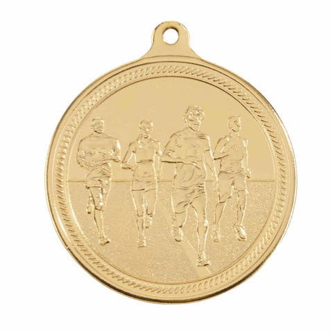 Personalised Engraved Endurance Running Medal 50mm Available In 3 Finishes Free Engraving