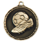 Personalised Engraved Power Boot Medal 50mm Available In 3 Finishes Free Engraving