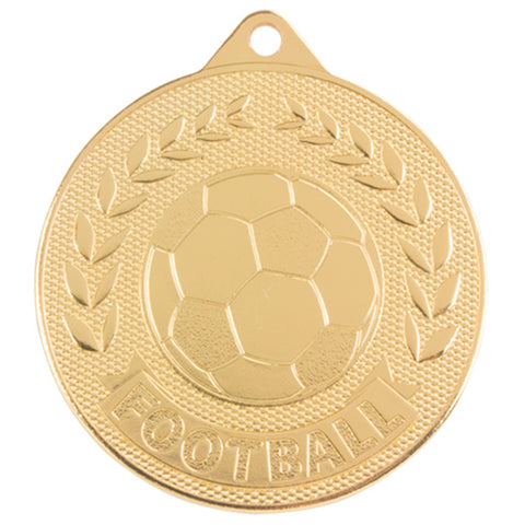 Personalised Engraved Discovery Football Medal 50mm Available In 3 Finishes Free Engraving
