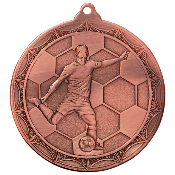 Football Medal and Box Trophy