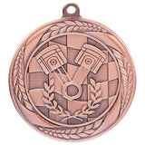 Personalised Engraved Typhoon Motorsport Medal 55mm Available In 3 Finishes Free Engraving