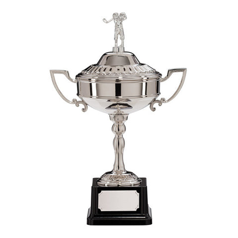 Golf Nickel Plated Cup Trophy