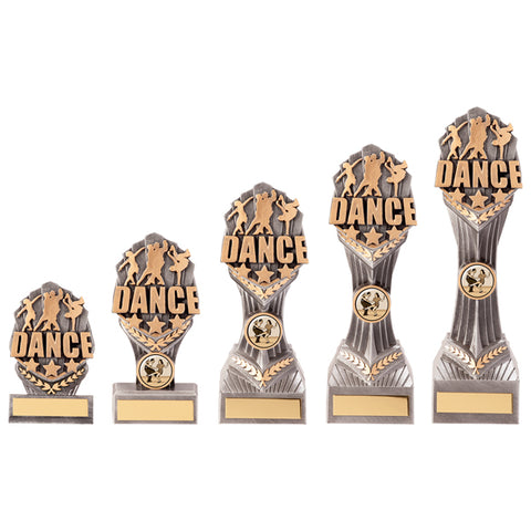 Personalised Engraved Falcon Dance Trophy 5 Sizes Available Free Engraving