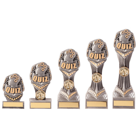 Personalised Engraved Falcon Quiz Trophy 5 Sizes Available Free Engraving