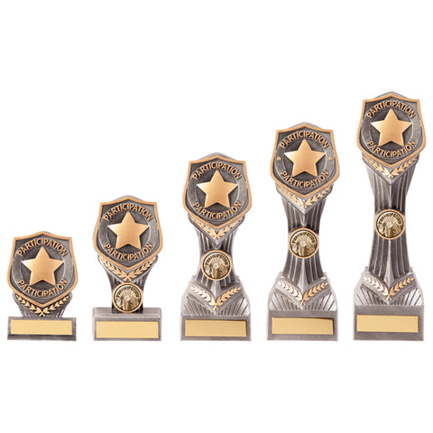 Personalised Engraved Falcon Achievement Participation Trophy 5 Sizes Available Free Engraving