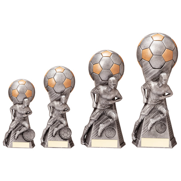 Personalised Engraved Trailblazer Football Trophy 4 Sizes Available Free Engraving