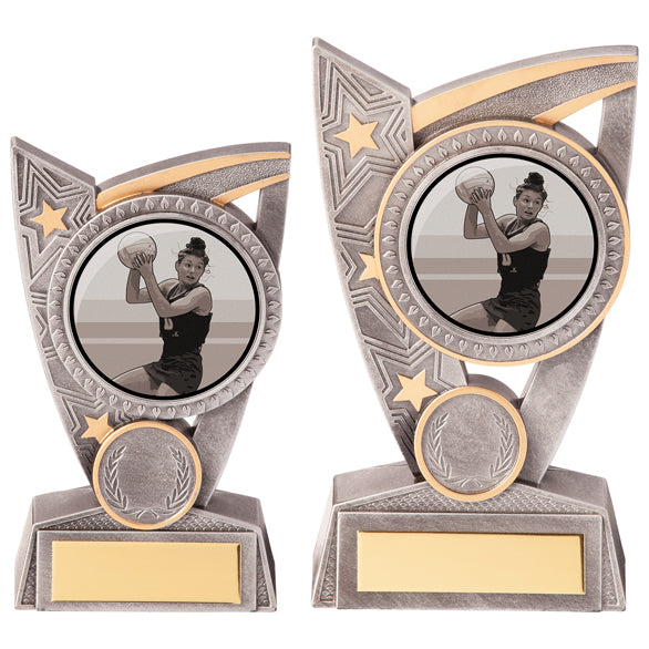 Personalised Engraved Triumph Netball Trophy 2 Sizes Available Free Engraving