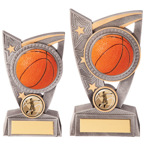Personalised Engraved Triumph Basketball Trophy 2 Sizes Available Free Engraving