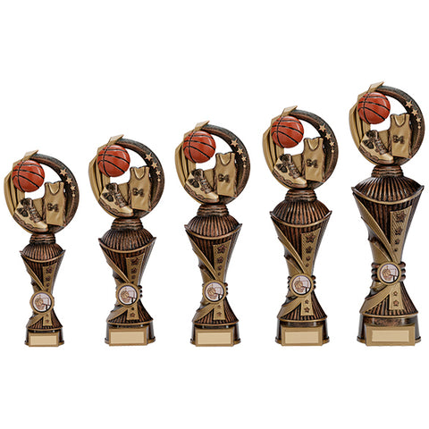 Personalised Engraved Renegade All Star Basketball Trophy 5 Sizes Available Free Engraving