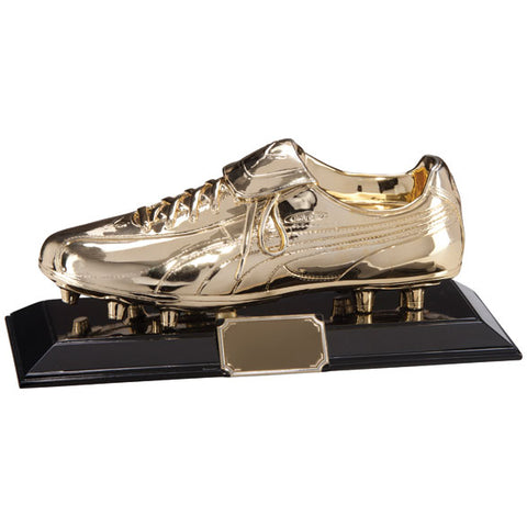 Personalised Engraved Puma Golden Boot Football Trophy Free Engraving