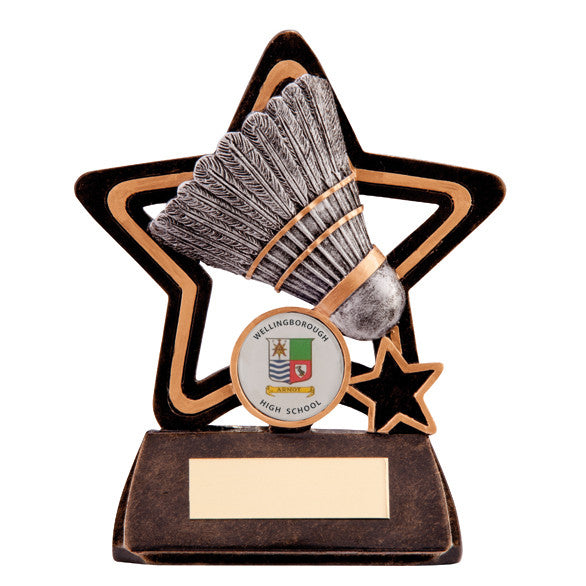 Badminton Resin Trophy