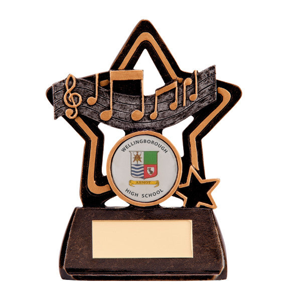 Music Resin Trophy