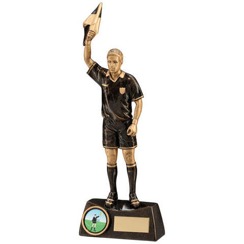 Personalised Engraved Assistant Referee Football Trophy Free Engraving