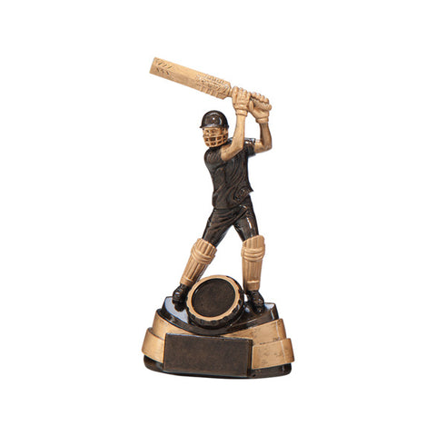 Personalised Engraved Legacy Batsman Cricket Trophy 2 Sizes Available Free Engraving