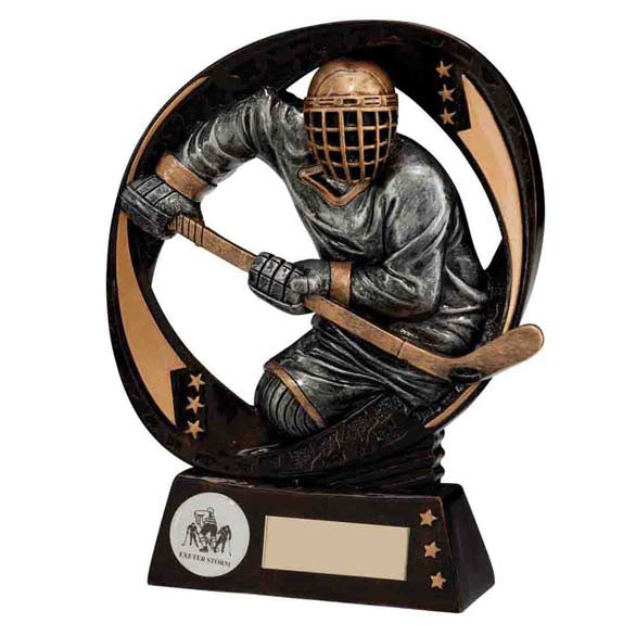Personalised Engraved Typhoon Ice Hockey Trophy Free Engraving