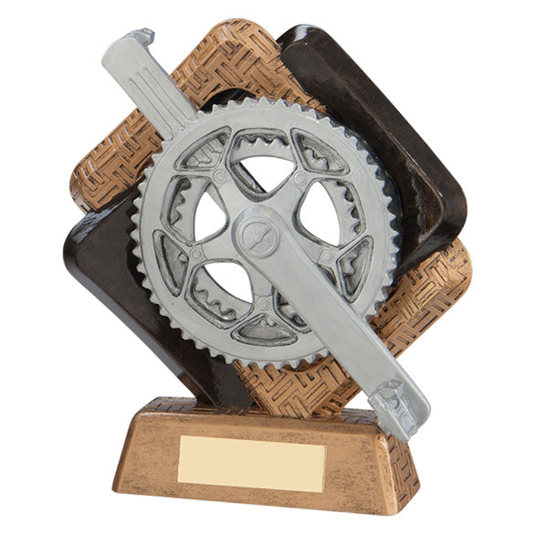 Personalised Engraved Sporting Unity Cycling Trophy Free Engraving