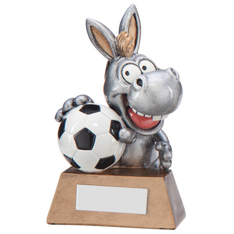 Personalised Engraved What A Donkey Football Trophy Free Engraving